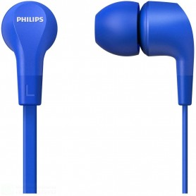 PHILIPS CUFFIE AURICOLARI CABLATE IN EAR E1105BK/00 COLORE BLUE JACK 3,5MM