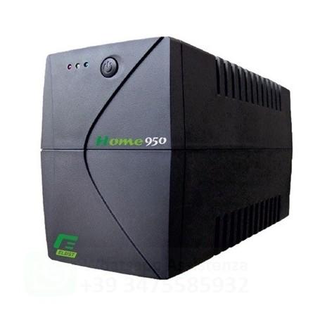 ELSIST HOME950 UPS GRUPPO DI CONTINUITA' AVR 570 W 950 Va CONNETTORI 1 X SCHUKO TIPO F