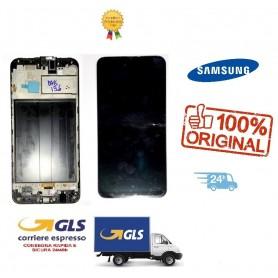 LCD DISPLAY DI RICAMBIO ORIGINALE SAMSUNG M30S SM-M305/M305F  NERO/BLACK GH82-19347A