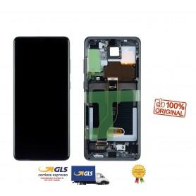 LCD DISPLAY (SAMOLED) ORIGINALE SAMSUNG S20 PLUS G986 5G BLUE GH82-22134D